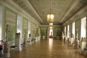 private tour of Pavlovsk Palace