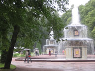 guided tour of the Fountains of Peterhof