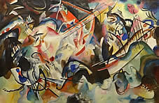 Composition VI. Kandinsky, Vasily. Oil on canvas. Russia-Germany. 1913