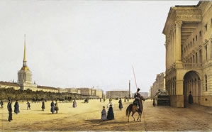 Admiralty Square, 1841 Perrot Ferdinand-Victor
