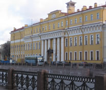 Palace of Yusupovs on the Moika River
