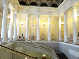 Grand staircase of the Russian Museum
