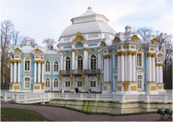 Hermitage pavilion of the Catherine Park in the Tsarskoye Selo