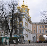 Church of the Resurrection in the Catherine Palace of Tsarskoye Selo