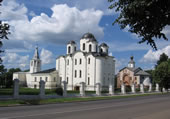 Ensemble of Yaroslav's Court and the Old Marketplace in Veliky Novgorod